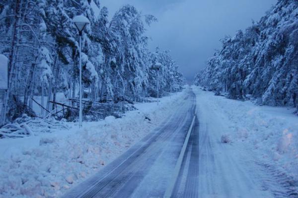 Savaitės orai: gausiai snigs tik antradienį