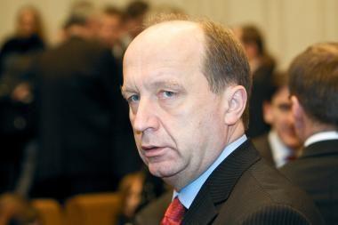 A.Kubilius nemano, kad koalicija vertins A.Valinską