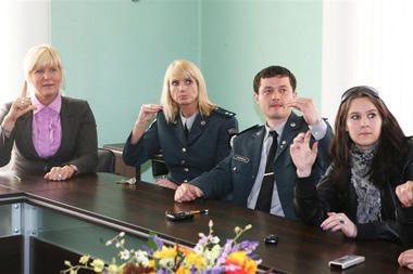 Policininkai pietus aukojo gestų pamokoms