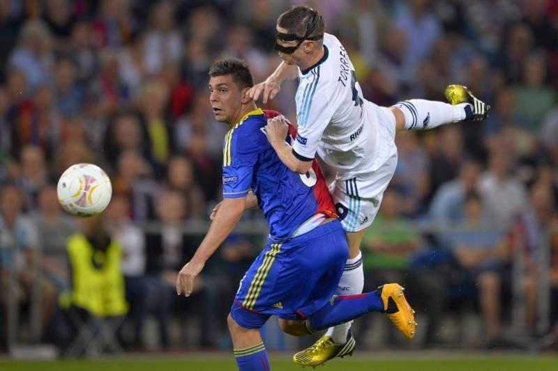 """Europos lyga: dramatiškame pusfinalyje sėkmė lydėjo """"Chelsea"""""""