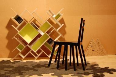 Kėdė KU-DIR-KA – parodos Maskvoje simbolis