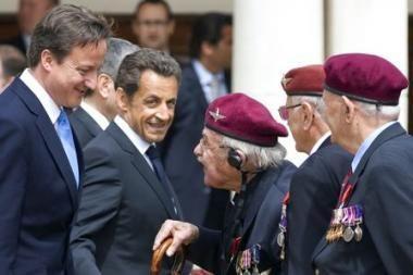 Nicolas Sarkozy Londone paminėjo de Gaulle'io radijo pranešimo metines