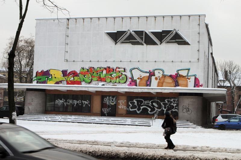 Seimas ėmėsi siūlymo didesnėmis baudomis drausminti grafičių piešėjus