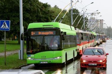 Autobusų ir troleibusų eismas lapkričio 1-3 dienomis