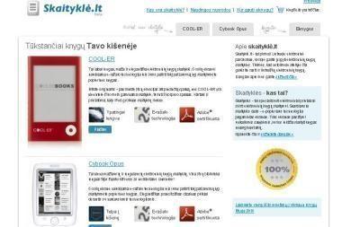 Lietuvoje jau prekiaujama elektroninėmis knygomis