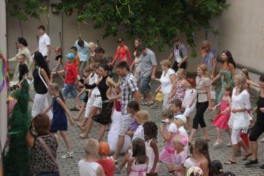 Šeimos laisvalaikio centre – pirmasis rudenėlio šokis