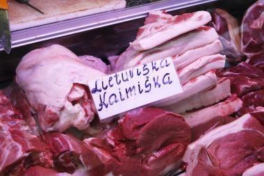 Mėsos gaminių eksportas nepakeičia krentančios vidaus rinkos