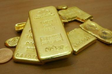 Šiemet prognozuojamas spartus aukso kainų augimas