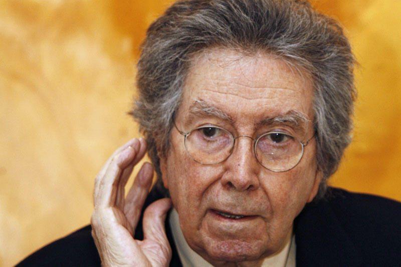 Barselonoje mirė žymus Ispanijos menininkas Antoni Tapies