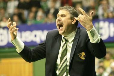"""A.Petrovičių """"Žalgirio"""" vyr. trenerio poste keičia R.Grigas (papildyta)"""