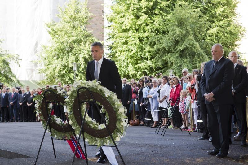 Premjeras: A.B.Breivikui nepavyko pakeisti Norvegijos