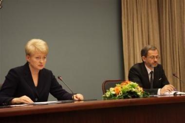 D.Grybauskaitė: dėl darbo tenka atsisakyti asmeninio gyvenimo (papildyta)