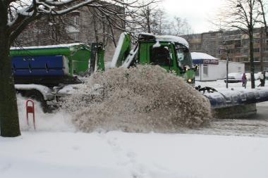 Klaipėdos kelininkų negąsdina prognozės apie šaltą žiemą