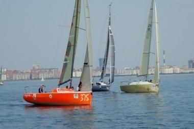 Sportinių laivų Europos čempionate lietuviai pelnė sidabrą