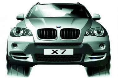 BMW ruošiasi gaminti septynvietį visureigį