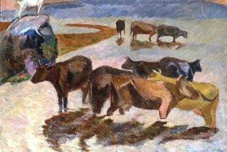 Vilniaus paveikslų galerijoje atidaroma paroda, skirta J.Vienožinskiui