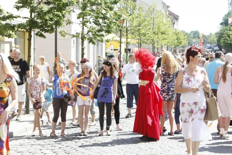 Vasaros sutiktuvėms Klaipėdoje – grandiozinė šventė