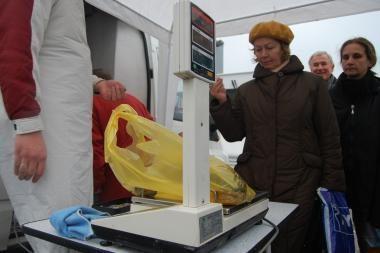 """Prie Vilniaus """"Akropolio"""" – šviežia Baltijos jūros žuvis"""