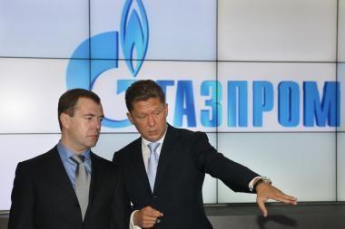 Rusija dėl skolos sumažino dujų tiekimą į Baltarusiją