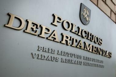 Valstybės kontrolė rado klaidų Policijos departamento finansinėje veikloje