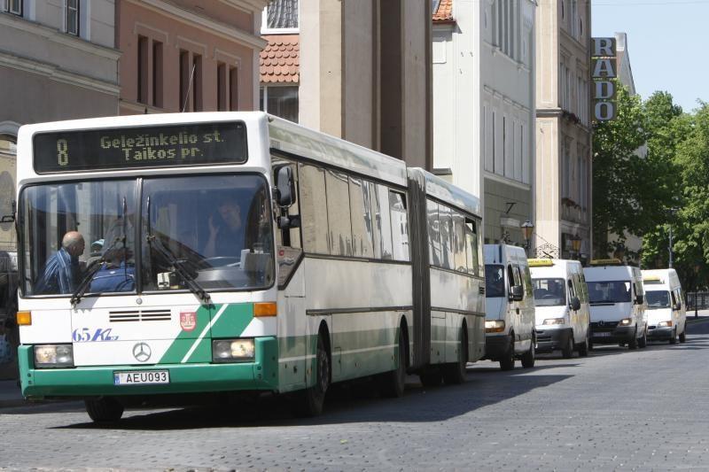 Klaipėdoje į autobusus sugrįš bilietai su nuolaidomis