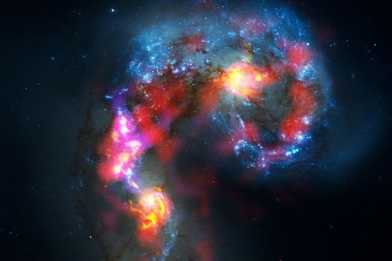 Visatos raidynas: sudėliokite savo vardą iš... galaktikų!