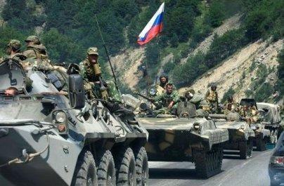 Rusijos kariuomenė įžengė į Gruziją (papildyta)