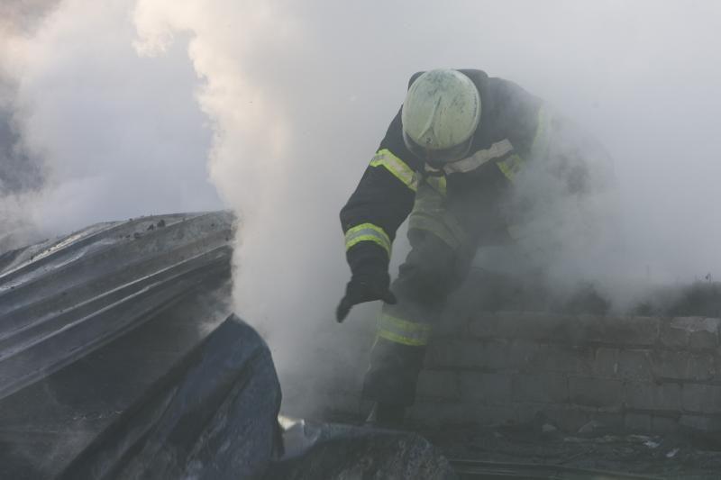 Kaune per gaisrą namo katilinėje nukentėjo vyras