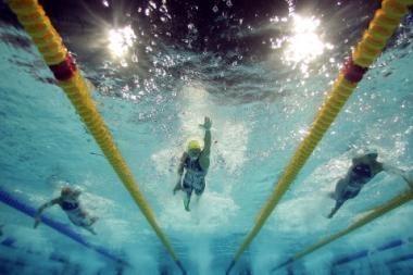 Lietuvos rinktinė laimėjo Baltijos šalių plaukimo mačą