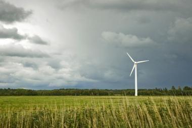 Asociacija: vėjo energetikos plėtra paskatins jos pramonės vystymąsi