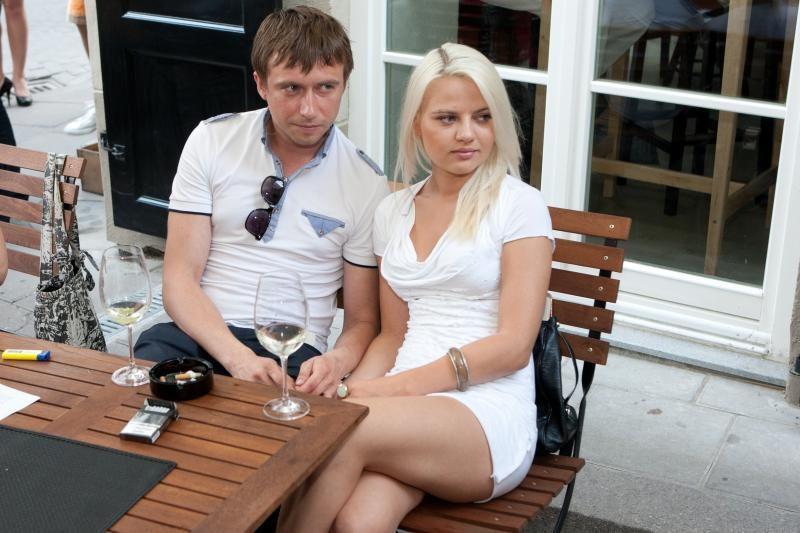 M.Jampolskis pasipiršo mylimajai R.Uzialkaitei