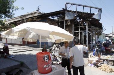 Per riaušes Kirgizijos pietuose žuvusiųjų skaičius pasiekė 356 žmonės