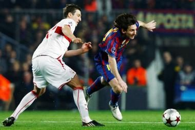 L.Messi įmušė vokiečiams du įvarčius