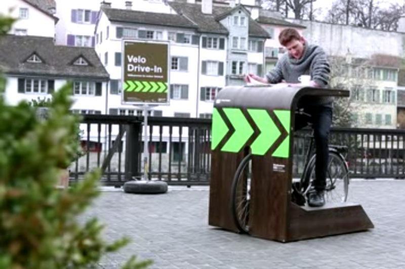 Šveicarijoje atidaryta kavinė dviratininkams