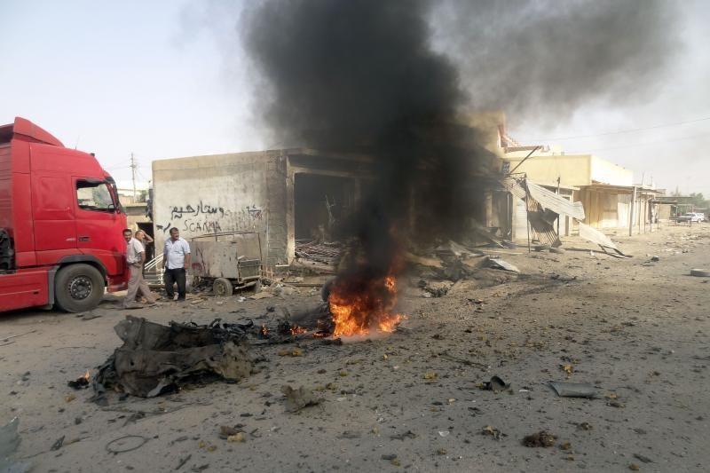 Per išpuolius Bagdado šiitų rajonuose žuvo 23 žmonės