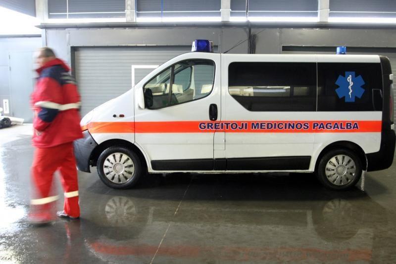 Klaipėdos ligoninės reanimacijos skyriuje atsidūrė nežinomas vyras