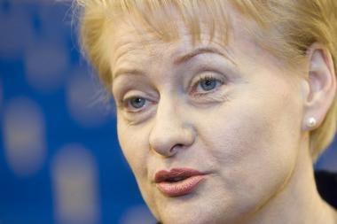 Prezidentė kelia ŠMM atsakomybės dėl pinigų skyrimo DPI klausimą