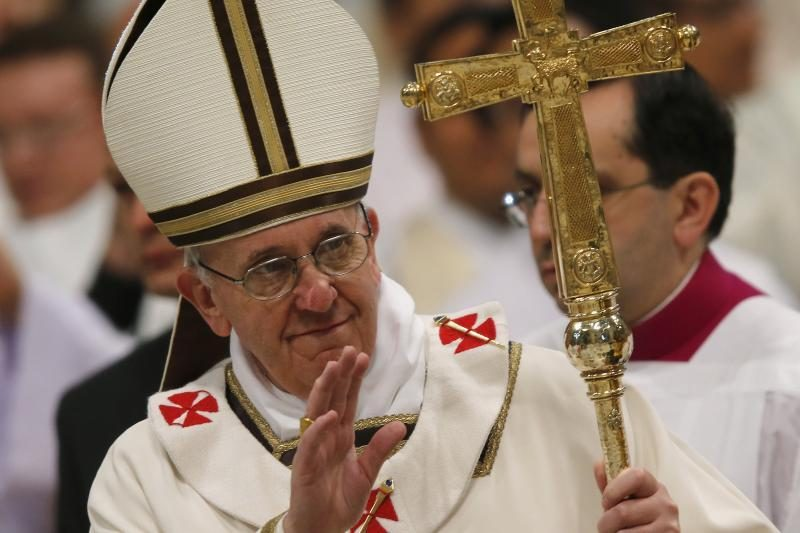 JT vadovas popiežių vadina pasaulio dvasiniu lyderiu
