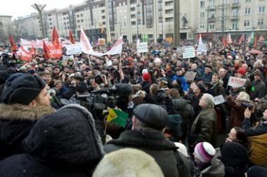 Vilniaus valdžia uždraudė sausio 15-osios mitingą