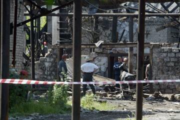 Sprogimas Ukrainos anglies kasykloje įkalino dešimtis žmonių (dar papildyta)