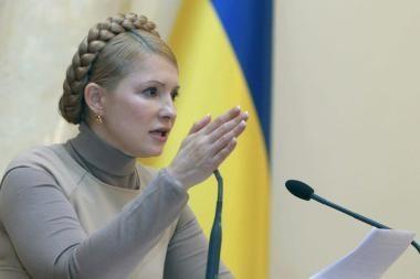 J.Tymošenko neketina palikti premjero posto