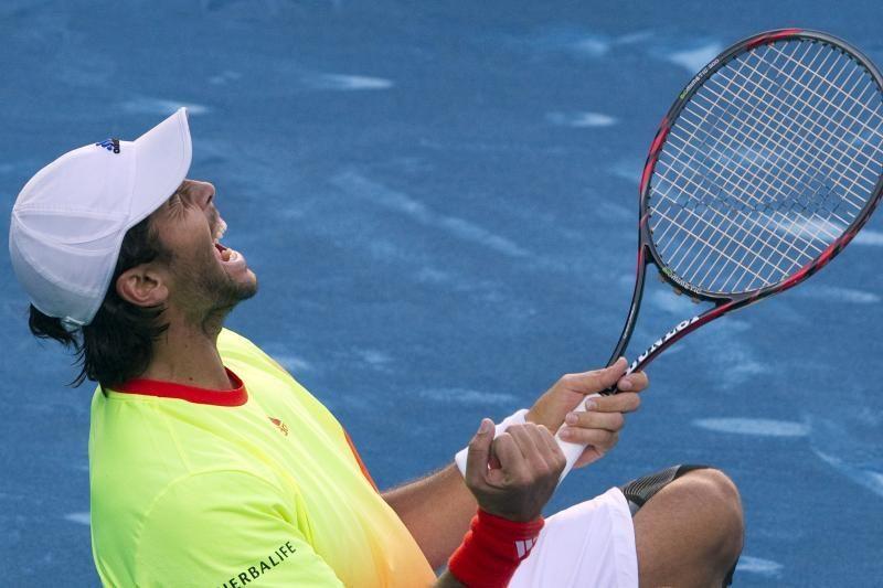 Madride F.Verdasco atkaklioje kovoje įveikė R.Nadalį