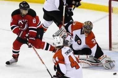 NHL Rytų konferencijos ketvirtfinalio mače - D.Zubraus įvartis