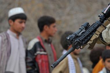 Afganistano pasienio patruliai nušovė septynis civilius