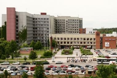 Automobilių aikštelė prie Santariškių ligoninės vėl mokama