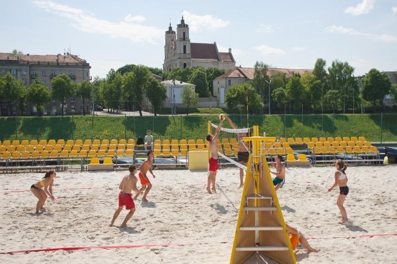Savaigalį Vilniuje startuoja paplūdimio tinklinio vasaros sezonas