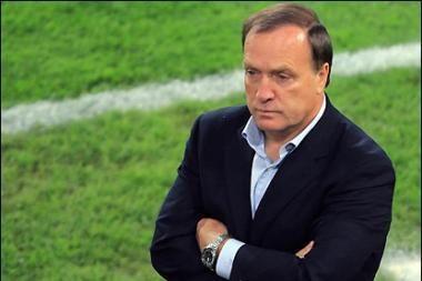 Ant Rusijos futbolo rinktinės slenksčio – vėl olandas
