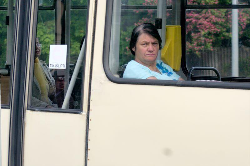 Vis daugiau vilniečių renkasi viešąjį transportą
