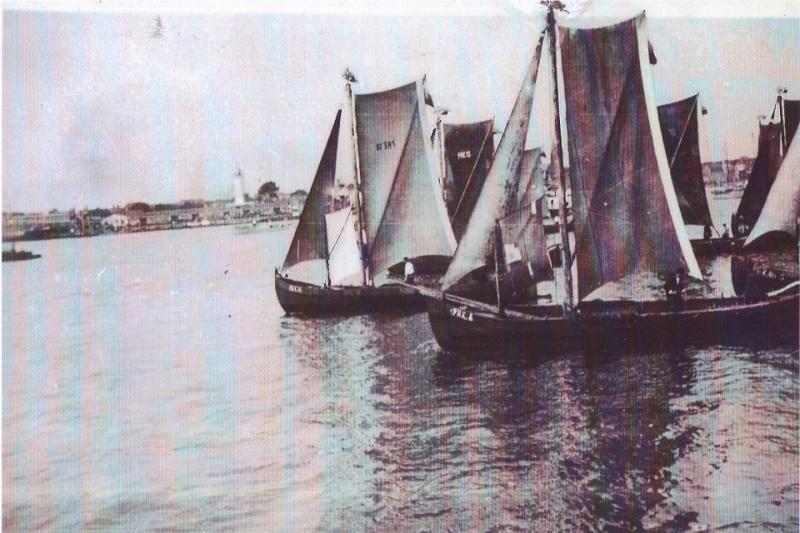 Kuršių mariose atgyja sena tradicija -  burvalčių regata