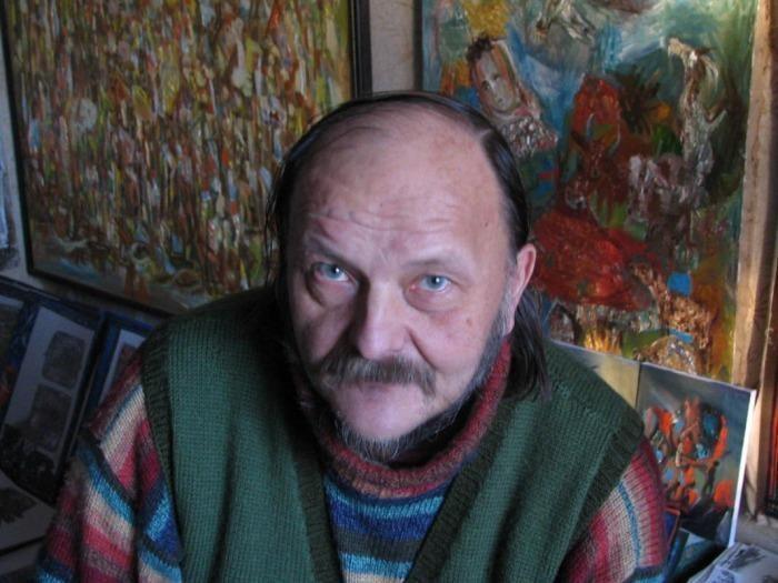 Mirė klaipėdietis dailininkas Vidas Pinkevičius